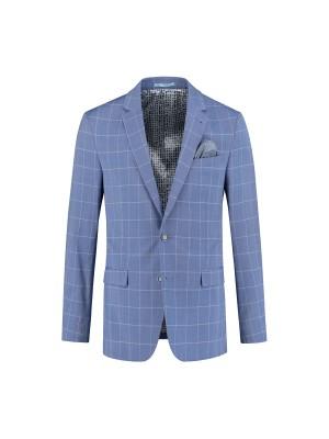 kostuum ruit lichtblauw 0078| GENTS.nl | Hoogste kwaliteit voor de laagste prijs