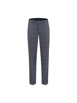Kostuum ruit blauw-grijs 0133  GENTS.nl   Hoogste kwaliteit voor de laagste prijs