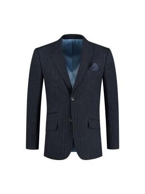 Kostuum streep blauw 0134| GENTS.nl | Hoogste kwaliteit voor de laagste prijs