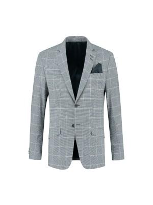 Kostuum ruit blauwgrijs 0138| GENTS.nl | Hoogste kwaliteit voor de laagste prijs