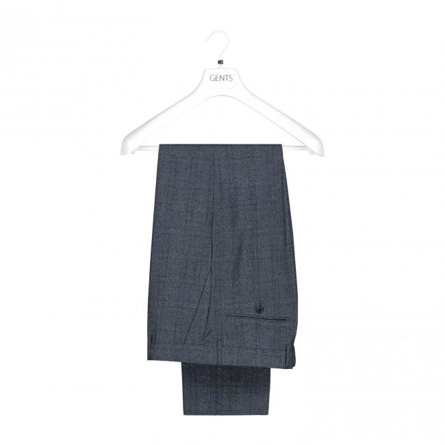Pak effen grijsblauw 2-delig 0038| GENTS.nl | Hoogste kwaliteit voor de laagste prijs
