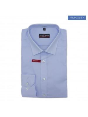 no label Shirts Marvelis body-fit blauw ML7 0171