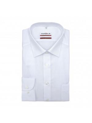 no label Shirts Marvelis modern-fit wit 0177