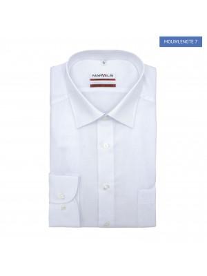 no label Shirts Marvelis modern-fit wit ML7 0178