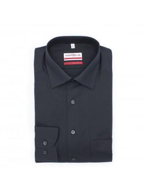 no label Shirts Marvelis modern-fit zwart 0180