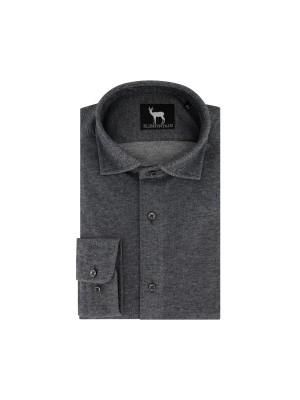 blumfontain Shirts Blumfontain uni jersey grijs 0251