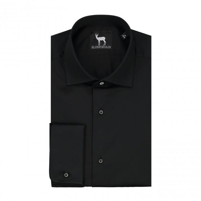 Smokingshirt kent studs zwart 0421| GENTS.nl | Hoogste kwaliteit voor de laagste prijs