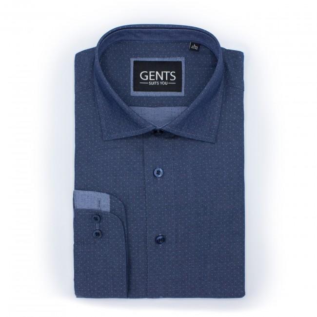Overhemd hambray 0471| GENTS.nl | Hoogste kwaliteit voor de laagste prijs