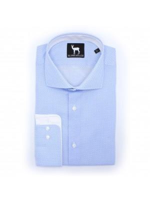 blumfontain Shirts Blumfontain print lichtblauw 0496
