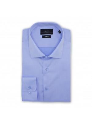 gents Shirts Overhemd slimfit effen structuur 0500
