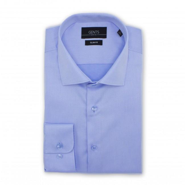 Overhemd slimfit effen structuur 0500| GENTS.nl | Hoogste kwaliteit voor de laagste prijs