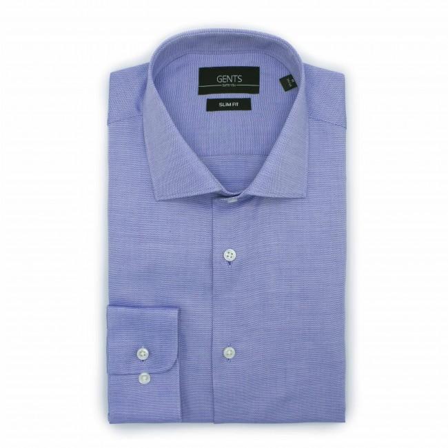 Overhemd slimfit oxford lichtbla 0501| GENTS.nl | Hoogste kwaliteit voor de laagste prijs