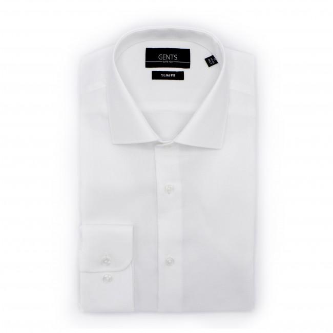 Slim Fit Wit Overhemd.Overhemd Slimfit Oxford Wit 0503 Gents Nl Hoogste Kwaliteit Voor