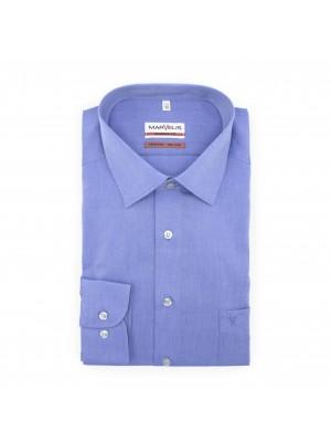 no label Shirts Marvelis modern-fit denim blauw 0505