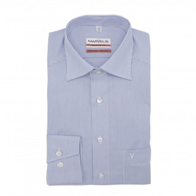 no label Modernfit Shirts Direct leverbaar uit de webshop van www.gents.nl/