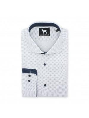Blumfontain print wit wieber 0510| GENTS.nl | Hoogste kwaliteit voor de laagste prijs