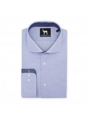 blumfontain Shirts Blumfontain print lichtblauw 0513