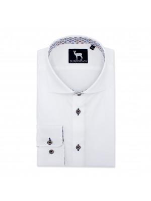 blumfontain Shirts Blumfontain uni wit tape 0523