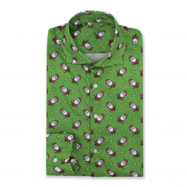 Kerstoverhemd groen 0553| GENTS.nl | Hoogste kwaliteit voor de laagste prijs