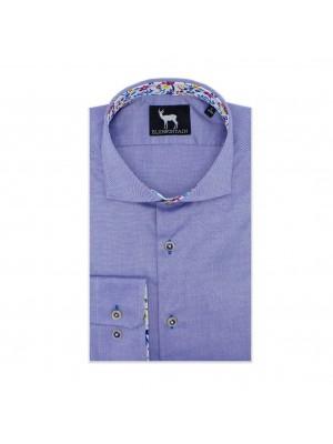 blumfontain Shirts Blumfontain uni contrast lbl 0568