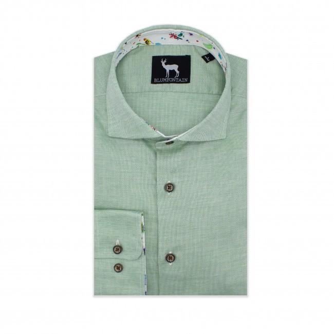 Blumfontain uni contrast groen 0571| GENTS.nl | Hoogste kwaliteit voor de laagste prijs