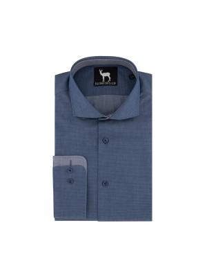 Blumfontain polkadot denim-blauw 0595  GENTS.nl   Hoogste kwaliteit voor de laagste prijs