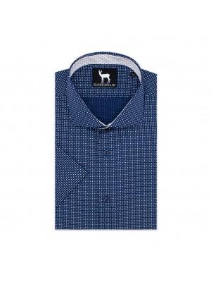 Blumfontain korte mouw  blauw 0598| GENTS.nl | Hoogste kwaliteit voor de laagste prijs