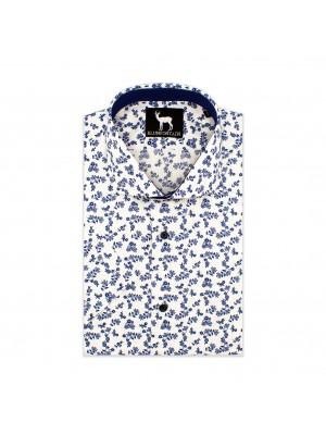 blumfontain Shirts Blumfontain KM print bloem 0605
