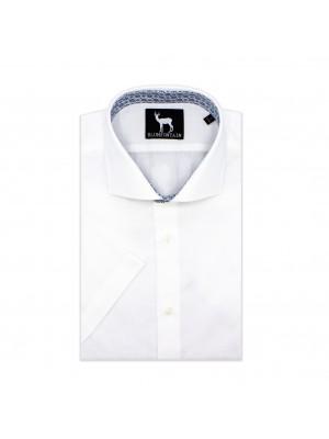 blumfontain Shirts Blumfontain korte mouw wit 0608