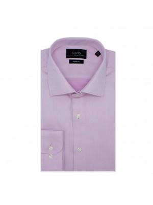 blumfontain Shirts GENTS slimfit structuur roze 0611