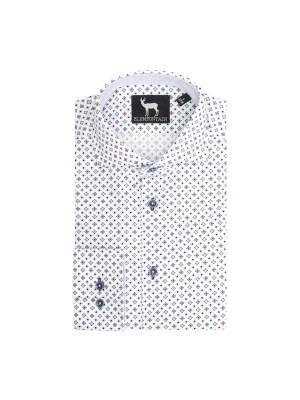 blumfontain Shirts Blumfontain print wieber ruit 0636