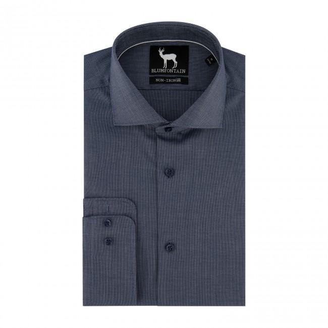 Blumfontain melange denim-blauw 0662| GENTS.nl | Hoogste kwaliteit voor de laagste prijs