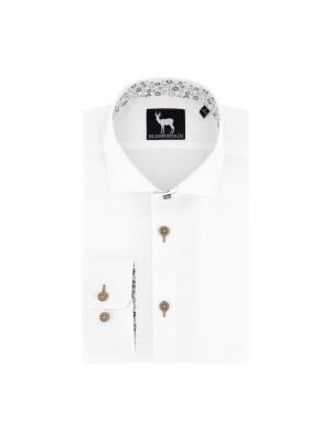 blumfontain Shirts Blumfontain uni wit 0684