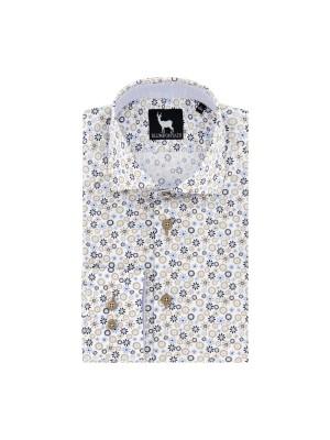 blumfontain Shirts Blumfontain print zonnebloem 0688