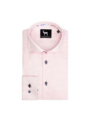 blumfontain Shirts Blumfontain uni linnenlook 0695