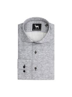 blumfontain Shirts Blumfontain structuur grijs 0700