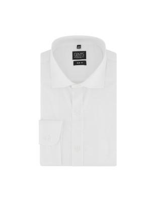 gents Shirts Overhemd slimfit bamboe wit 0733