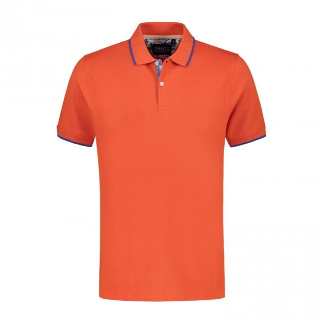 Polo uni oranje 0054| GENTS.nl | Hoogste kwaliteit voor de laagste prijs