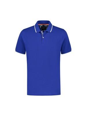 Polo uni blauw 0055| GENTS.nl | Hoogste kwaliteit voor de laagste prijs
