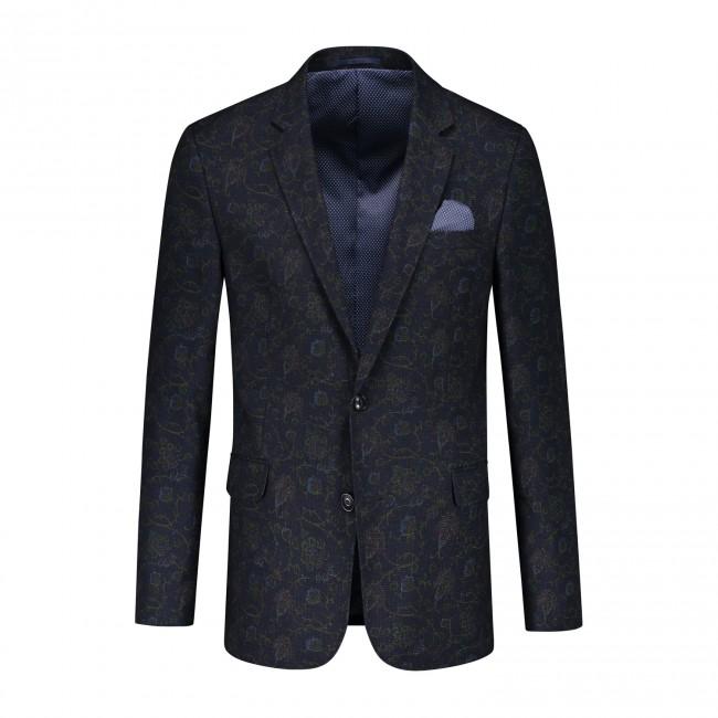 Colbert bloemprint blauw 0086| GENTS.nl | Hoogste kwaliteit voor de laagste prijs