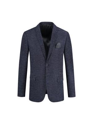 Colbert jersey blauwgrijs 0094