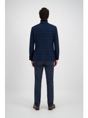 Colbert ruit blauw 0118| GENTS.nl | Hoogste kwaliteit voor de laagste prijs