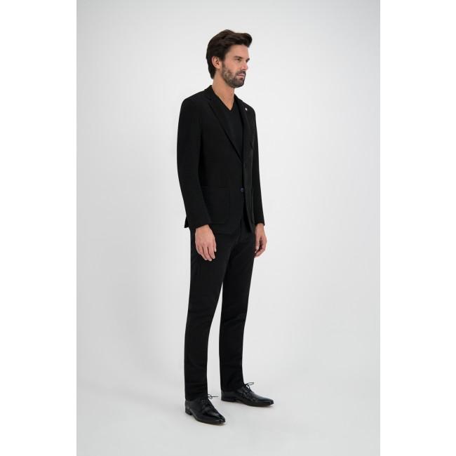 Colbert gebreid zwart 0120| GENTS.nl | Hoogste kwaliteit voor de laagste prijs