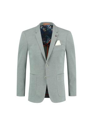 Colbert jersey groen 0131