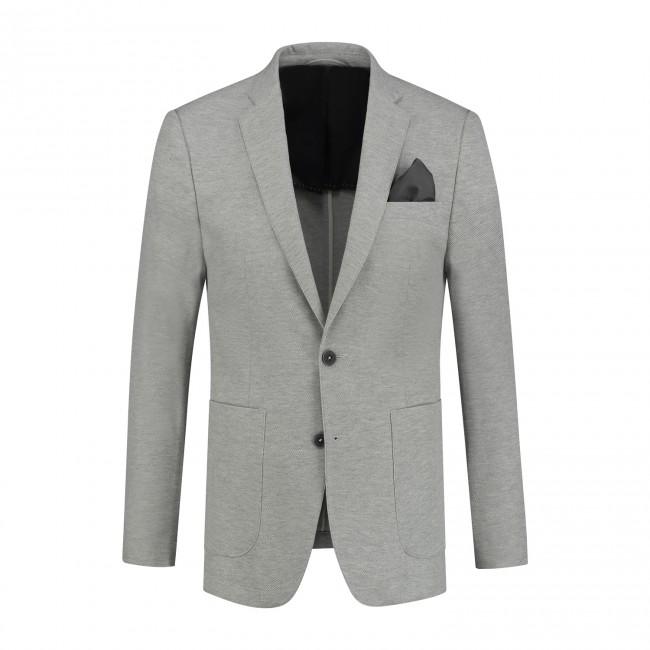 Mix & Match kostuum jersey lichtgrijs