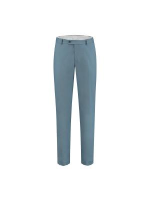 gents Broeken Pantalon katoen zeeblauw 0110