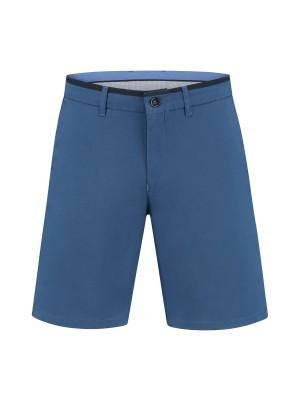 gents Broeken Chino bermuda royal blue 0117