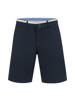 Chino bermuda donkerblauw 0118