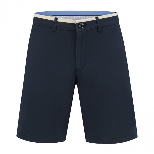 Chino bermuda donkerblauw 0118| GENTS.nl | Hoogste kwaliteit voor de laagste prijs