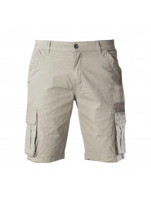 Pants bermuda poplin sand 0119